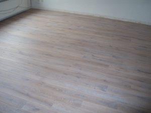 Rustiek Eiken Plankenvloer afgewerkt met witte olie